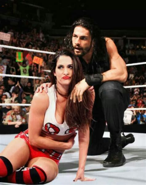 nikki bella and roman reign nikki bella roman reigns mixed tag match i want this