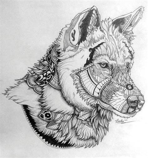 mandala animal tattoo tumblr mandala wolf google search if i ever get a tattoo