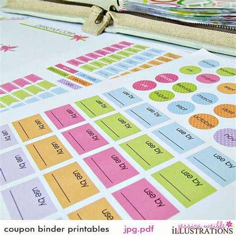 printable coupon organizer binder pinterest the world s catalog of ideas