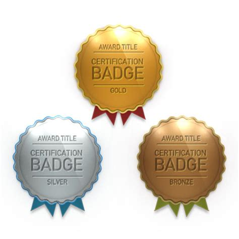 award badge template award certification badges psd