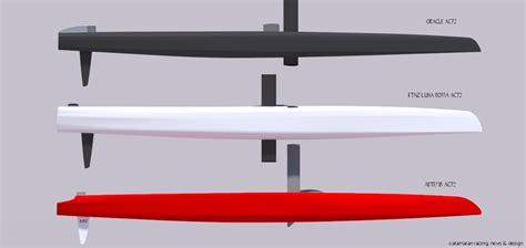 catamaran hull shape design ac72 hull design oracle vs etnz lr vs artemis catamaran
