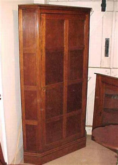 Corner Wardrobes For Sale by Oak Corner Wardrobe 1036 For Sale Antiques