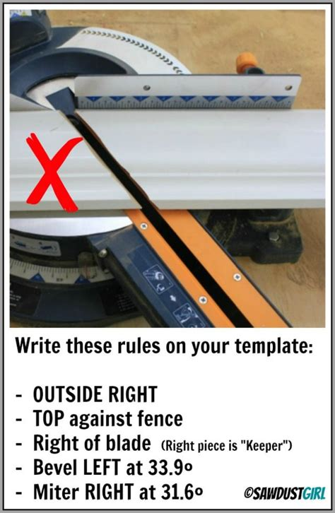 cut crown molding  easy templates office