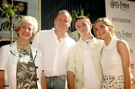 emma watson dad emma with her grandmother father and brother harry
