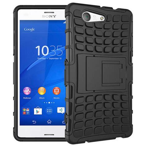 rugged cases rugged tough shockproof sony xperia z3 compact black