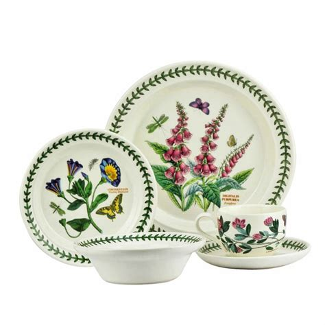 portmeirion botanic garden dinner set 20 piece