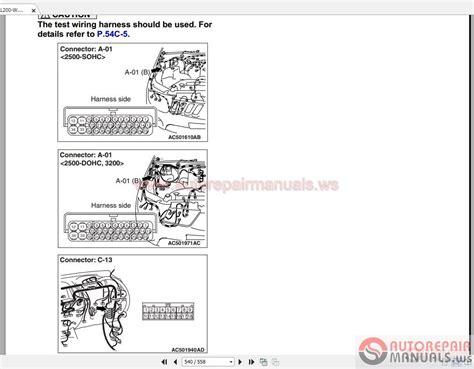 2006 mitsubishi lancer repair manual pdf wiring diagrams