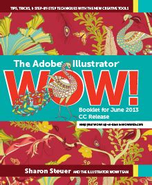 adobe illustrator cs6 books sharon steuer 187 wowartist com