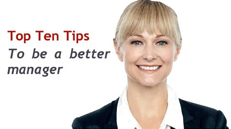 10 Tips On Being A Better Spouse by Top 10 Tips To Be A Better Manager