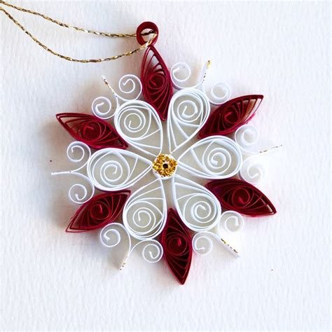 quilling christmas ornament patterns 145 best quilling snowflake images on ornaments and decor