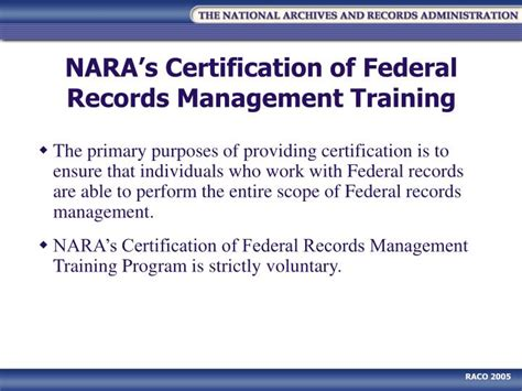 Federal Records Ppt Records Management And Outreach Powerpoint Presentation Id 6352582