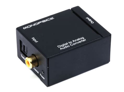 Adapter Audio Kabel Toslink Audio Fiber Optic Ke 3 Meter 3 digital to analog audio converter monoprice
