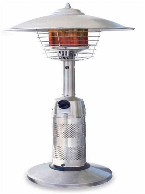 Round Stainless Steel Table Top Patio Heater Gwt801a Top Patio Heaters