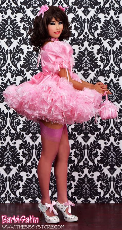 bee bee satin sissy dress 74 best images about fav sissies on pinterest sissy