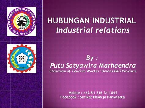 Hubungan Industrial 1 forum sdm bali sosialisasi budaya bali kepada tka hubungan indust