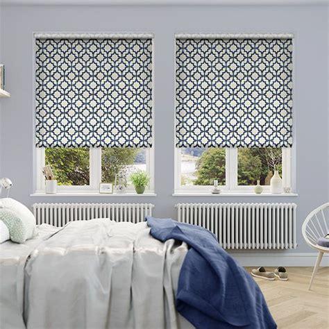 Blue Bedroom Blinds Choices Lattice Navy Blue Roller Blind Blue Roller