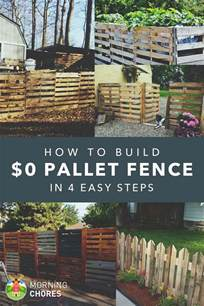 Backyard Chicken Farming by How To Build A Pallet Fence For Almost 0 And 6 Plans Ideas