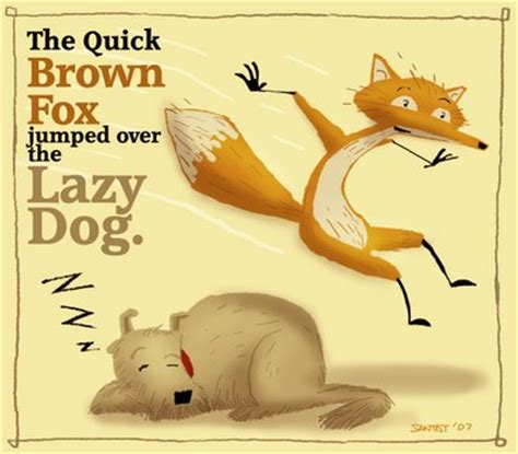 the brown fox jumps the lazy the brown fox jumps the lazy