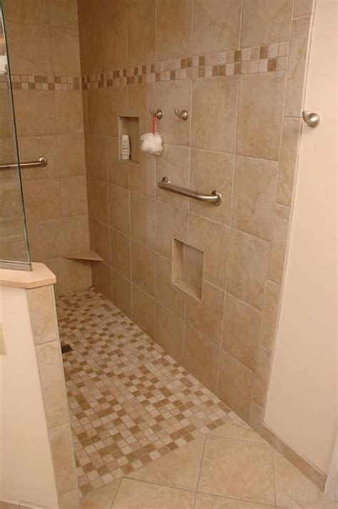 Showers Without Glass Doors Bathroom Showers Without Doors Interior Exterior Homie Best Walk In Doorless Showers Ideas