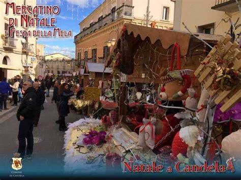 candela natale i mercatini di natale a candela date 2017 e programma
