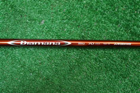 golf shaft mitsubishi diamana rf tip 335 mitsubishi rayon diamana ilima 70 x stiff wood shaft pull