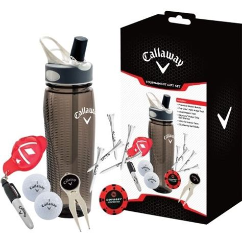 golf gifts tournament water bottle gift set by callaway golf buy it