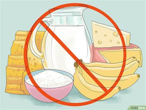 alimenti producono muco come smettere di ansimare 19 passaggi illustrato