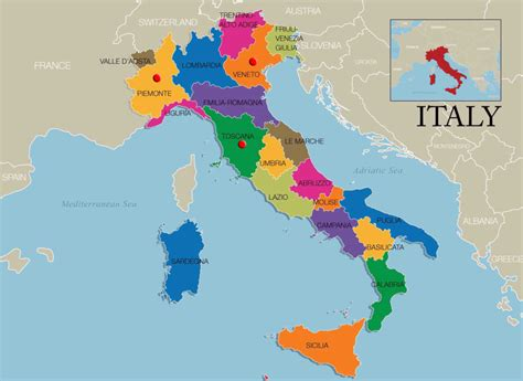 italian wine regions map andrea zoppi inc