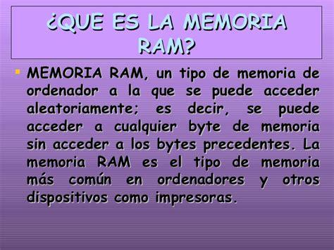 la memoria de los 8484640116 memoria ram y rom