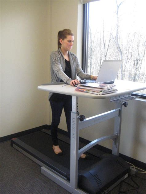Walk While You Work With The Levine Treadmill Workstation by Walking While Working On Lifespan Treadmill Desk