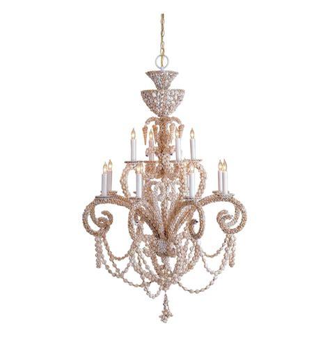 Seashell Chandelier Lighting cristal formal seashell grand 12 light chandelier kathy kuo home