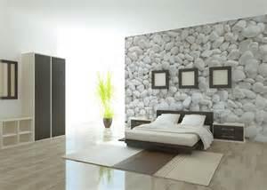papier peint chambre zen meuble oreiller