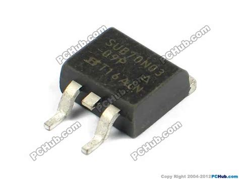 transistor laptop uph transistor mos desktop computer 78947 sub70n03 09p 30 v d s 175 c