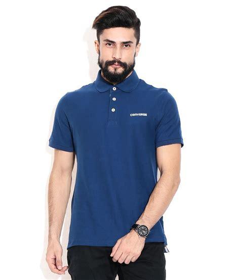 Tshirtt Shirtkaos Converse Blue converse blue polo t shirt buy converse blue polo t shirt at low price snapdeal