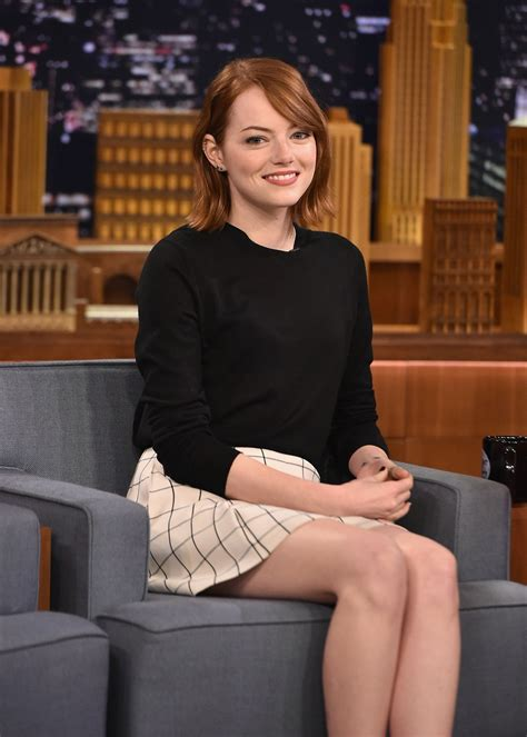 emma stone news emma stone appeared on the tonight show with jimmy fallon