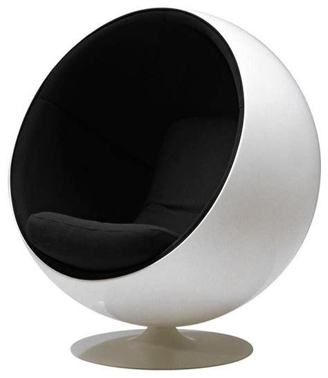 modern ball chair eero aarnio globe chair armchairs  accent chairs  plush pod decor