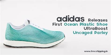 plastic shoe from adidas ultraboost uncaged parley