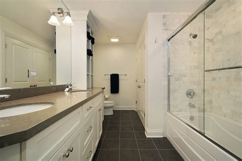 narrow bathroom narrow bathroom remodel signature services group