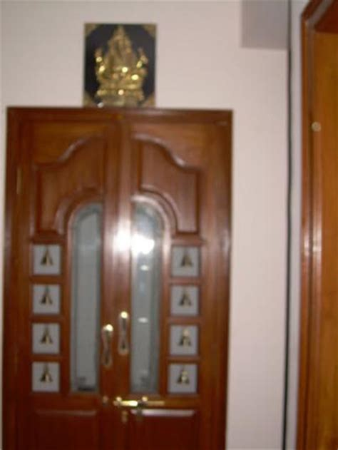 room door design carpenter work ideas and kerala style wooden decor pooja