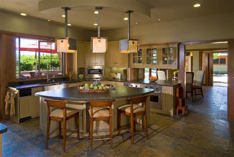odd shaped kitchen islands ridge top retreat contemporary kitchen san francisco