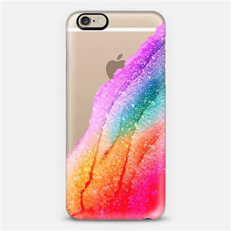 Pretty Pastel Set 6pcs flawless rainbow faux glitter by monika from casetify all my