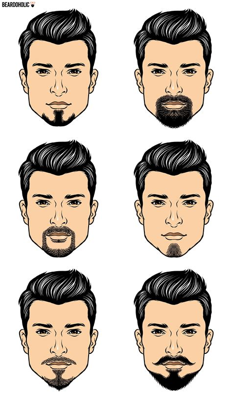black men beard styles chart 6 famous goatee styles and how to achieve them beardoholic