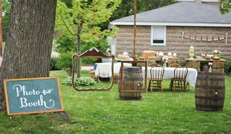 Outdoor Kids Table Vintage Cowgirl 1st Birthday Party Guest Feature