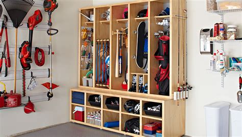 garage organization lowes family storage center