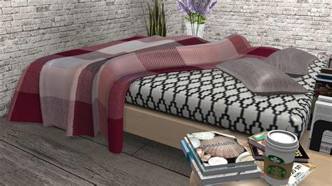lana cc finds loom throw blanket   sofa   games sims  cc furniture sims