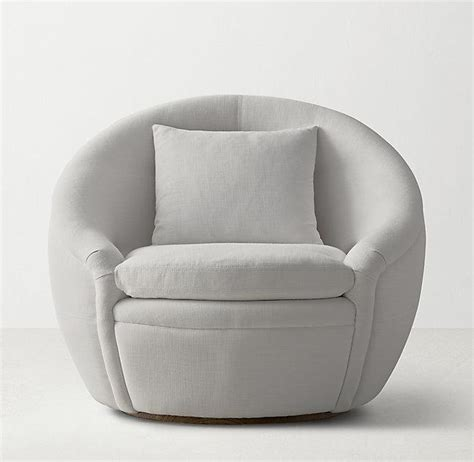 Swivel Round Chair Chairs Seating Circle Swivel Chair