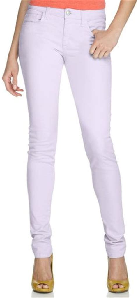light colored jeans joe s jeans light purple wash colored denim skinny in