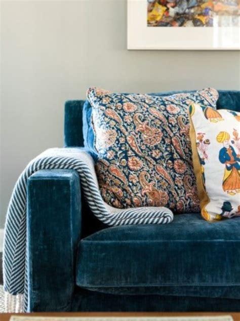 blue velvet sofa bed velvet couch