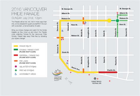 route of new year parade 2016 2016 vancouver pride parade to feature special guest