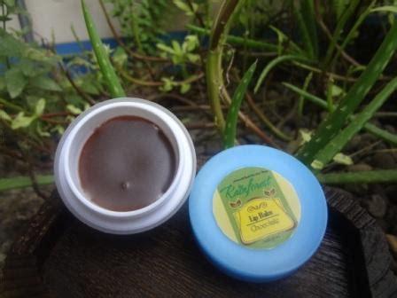 Pelembab Bibir Alami chocolate lip balm pelembab bibir coklat produk organik